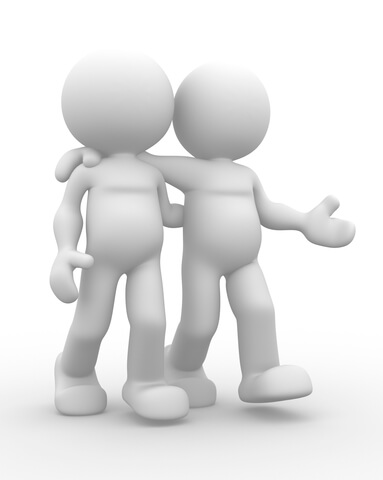 Deep talks with a good friend often helps you overcoming infidelity